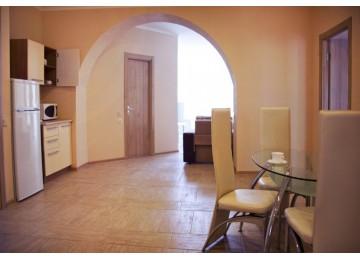 Апартамент улучшенный 4-местный  3-комнатный (вид на море)| Бухта Мечты Ласпи